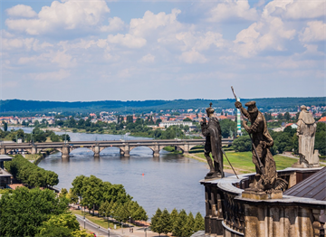 Saydam Fabrika'nın bulunduğu Dresden Kenti