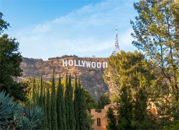 Ünlü Hollywood Tabelası
