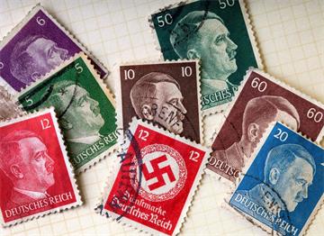 Posta Pulları üzerinde Aldolf Hitler