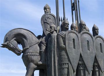Pskov  Alexander Nevsky Buz Savaşı Anıtı