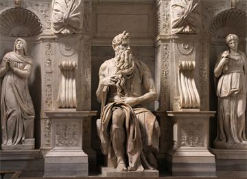 Michelangelo'nun Ünlü Musa Heykeli