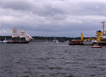 Kiel Haftası'nda Tekneler