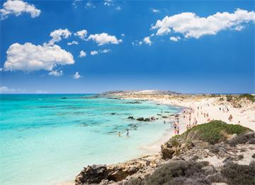 Girit Elafonissi Plajı
