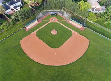 Havadan bir Beyzbol Sahası