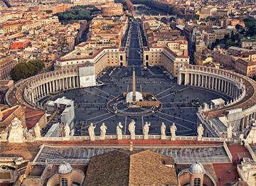 Vatikan San Pietro Meydanı