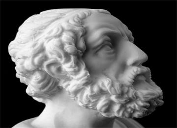 İliada ve Odysseia Destanları Yazarı Homer