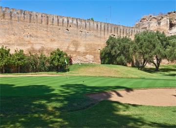 Meknes'de bir Golf Sahası