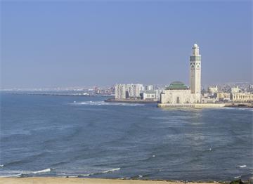 Hassan II Camii ve Kazablanka Kıyıları