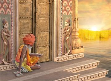 Hindu Çilekeş - Sadhu