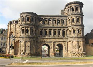 Trier Roma Şehir Kapısı Porta Nigra