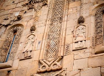 Tarihi Ananuri Kalesi Süslemeleri