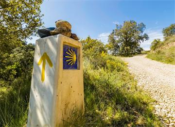Camino de Santiago Yol İşareti