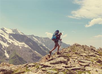 Kafkas Dağları'nda Hiking