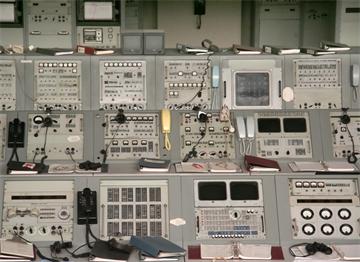 1960'larda Apollo Projesinin Kontrol Ekipmanı