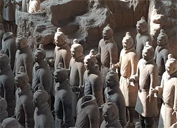 Muazzam Terracotta Ordusu - Xian