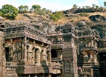 Ellora Mağaraları - Maharaştra