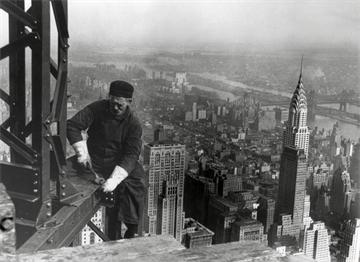 1930 Empire State Binasının Yapımı
